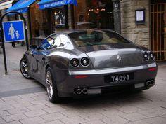 dat-auto-ass:  Ferrari 612 Scaglietti Novitech Rosso Breathtaking ass.