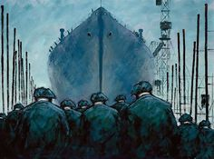Artist: Alexander Millar Title: Launch Day Medium: Giclee on Canvas Edition Copies: 95 Image Size: 24 x 18 Finish: Mounted or Framed Norman Cornish, High Art, Paintings I Love, Contemporary Artists, Lovers Art, Pencil Drawings, Product Launch, Watercolor, Art Prints