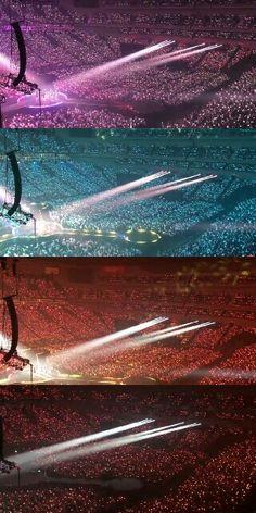 Concert Crowd, Bts Concert, Orange Aesthetic, Kpop Aesthetic, Taemin, Twice Fanart, Twice Album, All About Kpop, Ocean Wallpaper