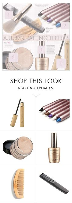 """""""Autumn Beauty Pep"""" by eclectic-chic ❤ liked on Polyvore featuring beauty, Kershaw, metallic, styletip and newchic"""