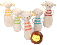 Monkey skittles #bowling #toys #monkey #ad #kids