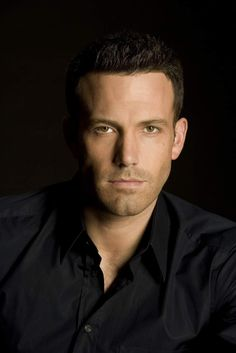 Ben Affleck ♥ Your skin has to be pretty flawless to wear all black because it makes black shadows on your neck and face. Remember the colors you use reflect into the shadows and cast that color on your exposed skin.