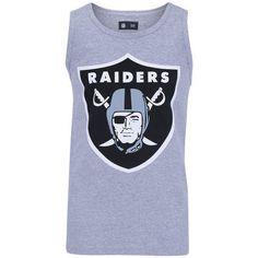 0f8080e4ca Camiseta Regata New Era Basic Oakland Raiders - Masculina