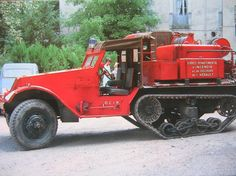 Half Track [ shop.coldfiresoutheast.com ] #firetruck #response #safety