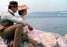 Somewhere in Time (1980) - Christopher Reeve, Jane Seymour from  filmed on Macinaw Island.