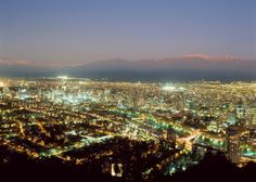Santiago, Chile* Love to explore where I was born and spent the first 4 months of my life!!