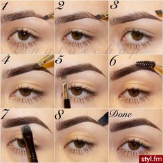Pictorial for eyebrows