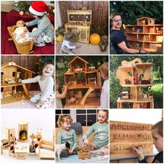 Dollhouse Kits, Wooden Dollhouse, Dollhouse Furniture, Popular Toys, Forest Creatures, Toy Kitchen, Lol Dolls, Wooden Letters, Educational Toys