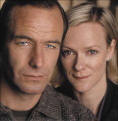 Robson Green and Hermione Norris ... two of my favorite Brits to watch.