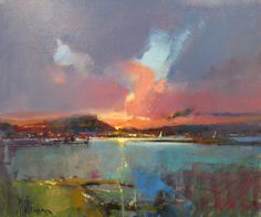 So beautiful this abstract landscape from Peter Wileman. Love the colours!