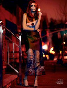 josephine skriver elle4 Josephine Skriver Poses in Brooklyn for Elle Brazil Cover Shoot