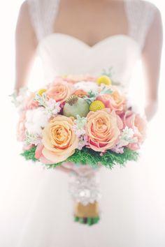 53 Ideas For Wedding Spring Orange Bouquets Peach Bouquet, Spring Bouquet, Bouquet Flowers, Simple Wedding Bouquets, Bride Bouquets, Bouquet Wedding, Wedding Beauty, Dream Wedding, Wedding Day