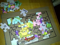 Create a sight-word puzzle!  Cute idea:)