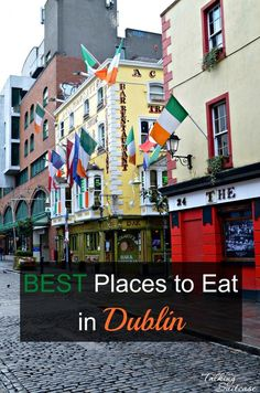 I'd never thought of Dublin as a city for foodies, but we enjoyed amazing food the entire trip! Here are our picks for the best places to eat in Dublin.  We even ate in all these places with kids.