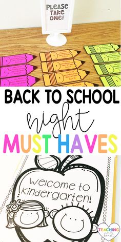 Back to School Night or Meet the Teacher Night is stressful, but it doesn't have to be! This editable pack has everything you'll ever need to rock your meet the teacher night, back to school night, open house, or visitation.  This pack includes editable sign in sheets, classroom communication forms, photograph permission forms, volunteer forms, school supply lists, classroom wish lists, ready confetti gifts, scavenger hunts, classroom donation displays, folder, and more. Teaching Second Grade, Second Grade Teacher, Meet The Teacher, First Grade Teachers, Elementary Teacher, Primary Education, Primary Classroom, Elementary Education, Back To School Activities