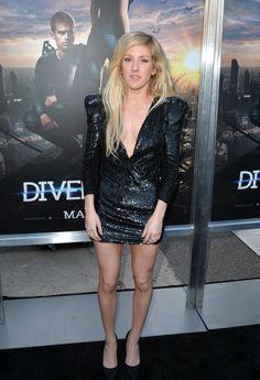 Best Dressed Divergent Premiere: Ellie Goulding