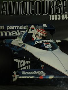 AUTOCOURSE 1983 - 84 NIKI LAUDA BALDI NELSON PIQUET JACQUES LAFFITE ALAIN PROST | eBay Jochen Rindt, Alain Prost, Formula 1, Public, Racing, Sports, Books, F1, Ebay