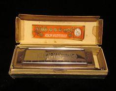 Harmonica  Vintage Harmonica  Chromatica  by PowerOfOneDesigns, $59.99