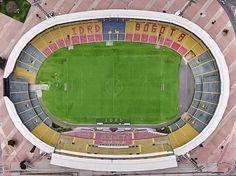 """Estadio Nemesio Camacho """"El Campin"""" vista de arriba. Bogotá, D.C."""