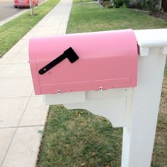 I have a pink mailbox now by our.city.lights, via Flickr