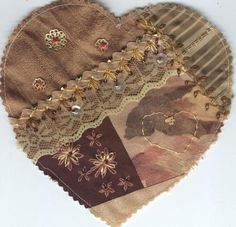I ❤ crazy quilting & embroidery . . . #8 Maureen C ~By chainofhearts