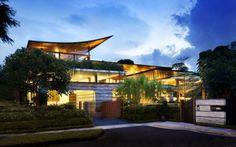 + Arquitetura :   Conheça essa maravilhosa casa, projetada pela Guz Architects, que esta localizada em Cingapura.