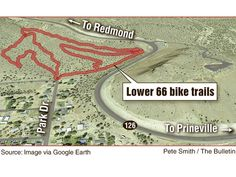 Prineville mountain bike trail system opens; Lower 66 totals about 4 miles of mountain bike trails