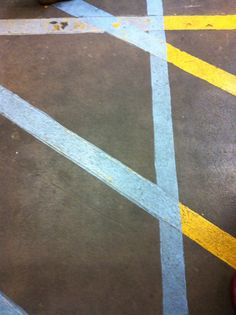 cross here