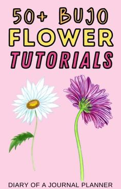 Become a flower drawing pro with our list of 50+ flower drawing tutorials for bullet journal lovers! #flowerdrawing #doodles Easy Flower Drawings, Flower Drawing Tutorials, Drawing Flowers, Bullet Journal Mood, Bullet Journal Themes, Bullet Journal Layout, Love Doodles, Simple Doodles, Doodle Sketch