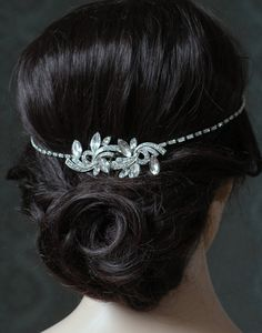Art Deco Wedding Headpiece Bridal Hair Accessory Art Deco