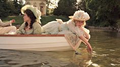 Kirsten Dunst and Mary Nighy in Marie Antoinette Marie Antoinette 2006, Princess Aesthetic, Sofia Coppola, Vintage Princess, Film Aesthetic, Poses, Past Life, Pride And Prejudice, Period Dramas