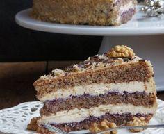 Tort orzechowy z masą kajmakową 20 Min, Tiramisu, Ethnic Recipes, Cakes, Cake Makers, Kuchen, Cake, Pastries, Tiramisu Cake