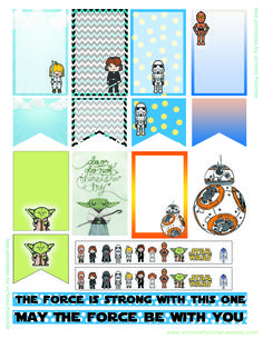 Star Wars printable planner