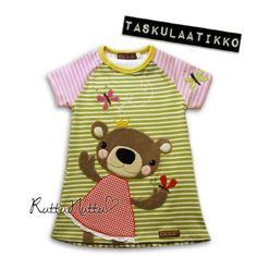 RuttuNuttu Tiny Gifts, Toddler Fashion, Fabric Art, Summer Collection, Infant, Applique, Barn, Sewing, T Shirt
