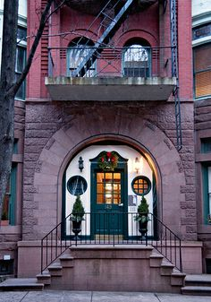 winter evening #12, 149 Willow Street (c.1900), Brooklyn Heights, New York