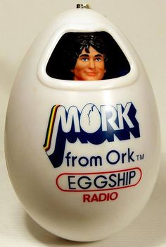 Robin Williams Mork from Ork Eggship Radio From 1979 Tennessee Williams, Old Tv Shows, Movies And Tv Shows, Retro Toys, Vintage Toys, Mork & Mindy, Record Players, Robin Williams, Tarzan