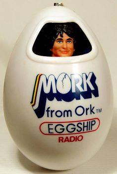 1979 Mork from Ork Eggship Radio