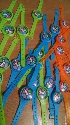 12 x puzzle montres jeu jouet filles garçons butin faveur fête d/'anniversaire sac remplissage