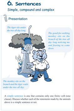 Grade 5 Grammar Lesson 6 Sentences simple, compound and complex