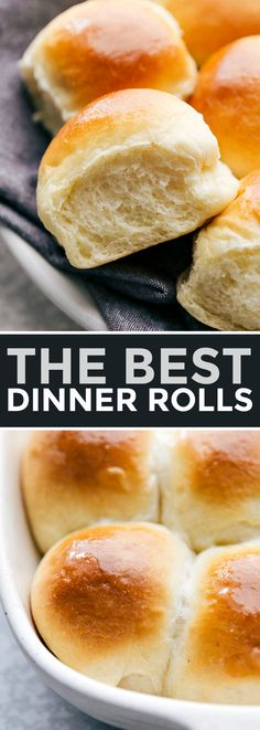 Our favorite easy dinner rolls made with only 8 ingredients! This post walks you through each and every step of making this dinner rolls recipe. Quick Yeast Rolls, Homemade Yeast Rolls, Quick Cinnamon Rolls, Homemade Dinner Rolls, Good Quick Dinners, Quick Dinner Rolls, Dinner Rolls Recipe, Roll Recipe, Dinner Recipes