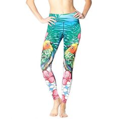 Women Fitness Leggings Fashion 3D Styles Eagle Rock Love Birds Digital Printing