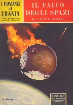 36  IL FALCO DEGLI SPAZI 28/2/1954  SPACE HAWK  Copertina di  C. Caesar   ANTHONY GILMORE