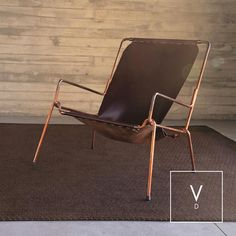 [ Copper On Copper ]⠀ Verdi Design & the pinch coffee chair in copper and leather by @1millimetre. Same colors and same materials from Colombia to Beirut! Great photo session by @verdi_design_lebanon