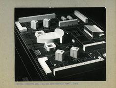 Dzerzhinsky square, model, 1969. Image © V. Zabolotnyj State Scientific Architecture and Construction Library
