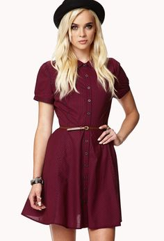 Dark red and black dress -  Forever 21 - 2027704390