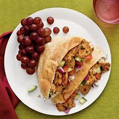 Spicy Chicken Shawarma | MyRecipes.com