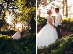 Peckforton Castle, wedding, venue, outdoor, couple, forrest