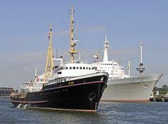 Zeesleper Elbe, SS Rotterdam, Euromast.