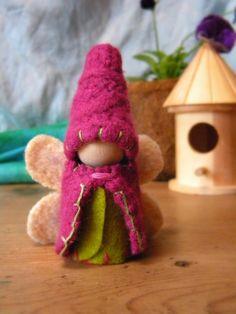 wool peg doll