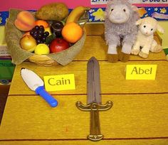 Cain  Abel Bible Class Visual Aids: Abel's sacrifice was much more difficult to do!